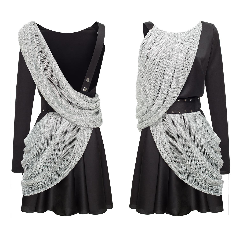 Фотосъемка одежды на прозрачном (невидимом) манекене (lamoda, modaoperandi)
